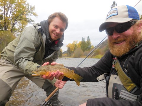 Sean gets in on the action with a nice brown