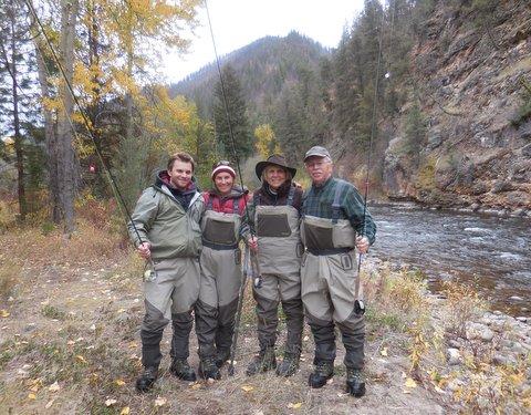The Hyndman Family on the banks of Rock Creek